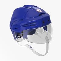 hockey helmet generic 3 3d max