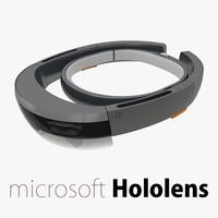 microsoft hololens 3d max