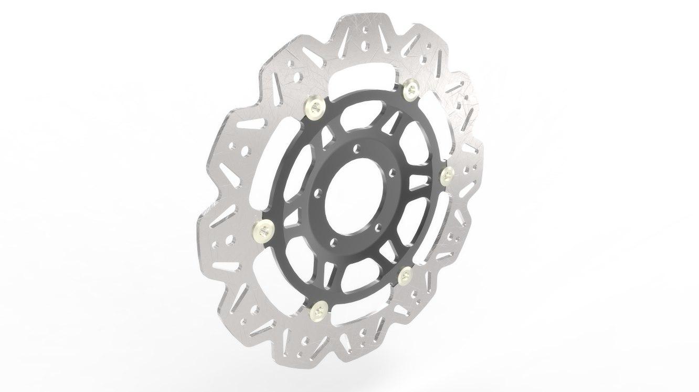 ebc vee rotor 3d model