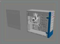 3d model pc station