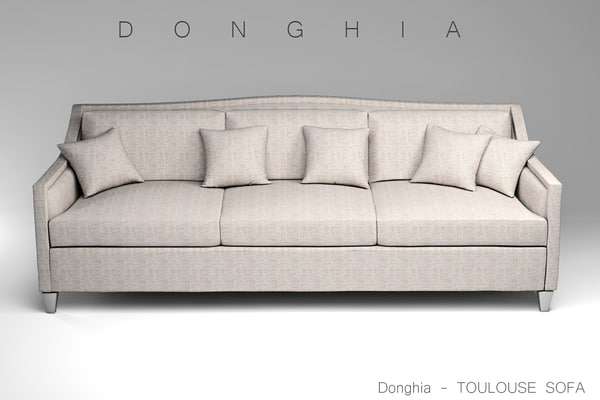 3d donghia toulouse sofa model