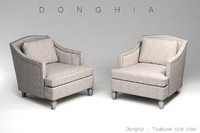 Donghia Toulouse club chair