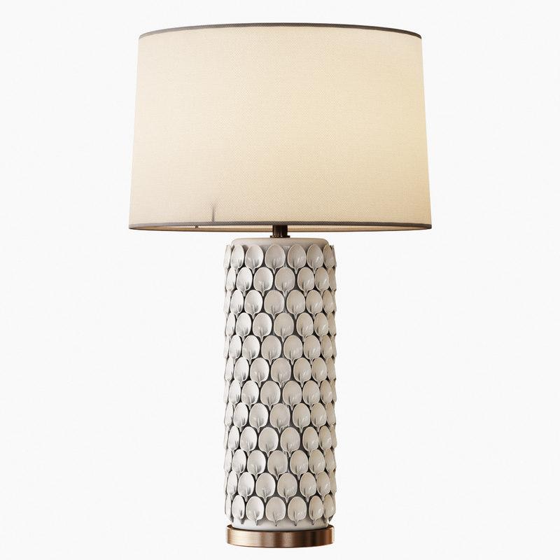 calla lily table lamp 3d max