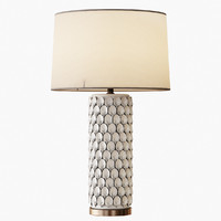 3d calla lily table lamp