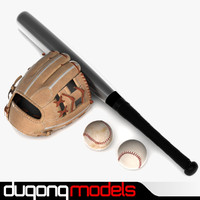 3d max dugm09 baseball glove pack