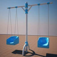 playground children 3d model