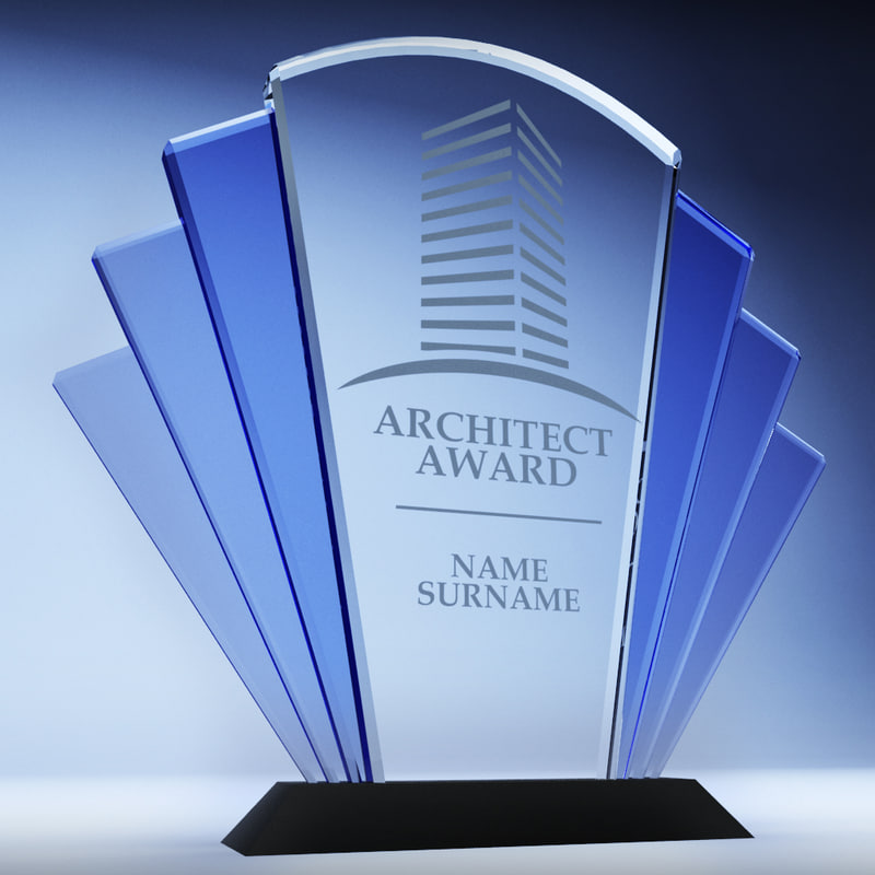3d trophy award cup 01 model