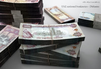 3d model united dirhams
