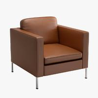 la cividina anytime armchair 3d model