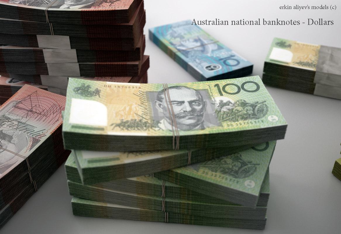 australian dollars 3d 3ds