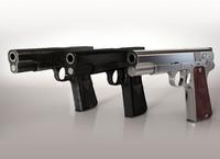 Vis w35 Gun High-detailed 3D Model