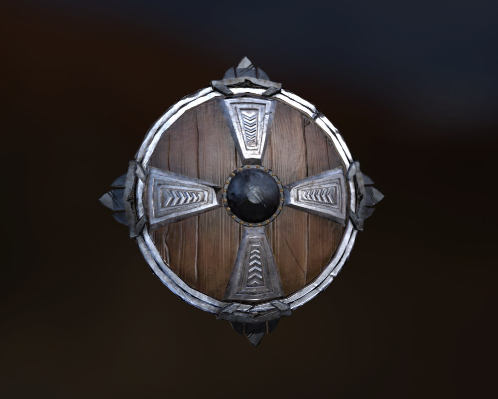 3d model of shield
