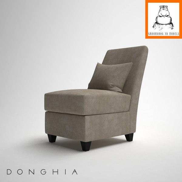 3d model groundhog | donghia cooper
