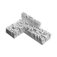 3d model n-omino l-block 1