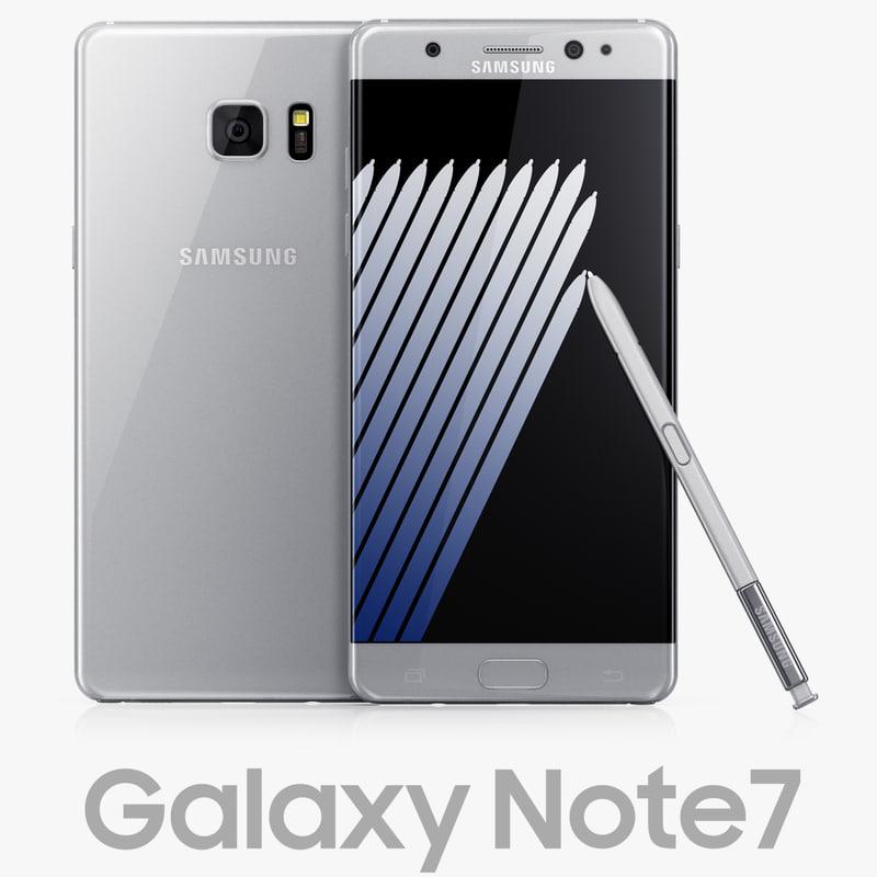 max samsung galaxy note7 silver