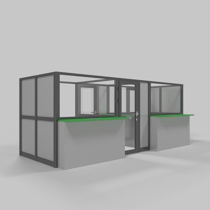 ticket window 3d x