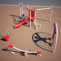 playground play 3d model