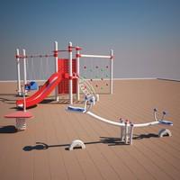 playground play 3d max