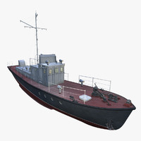 3d real-time boat model
