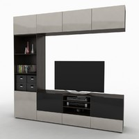 3d ikea best tv storage