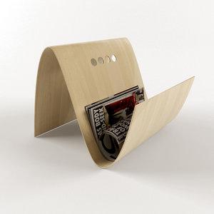 3d model of boconcept ditto magazine holder