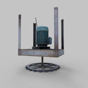 3d prop motor