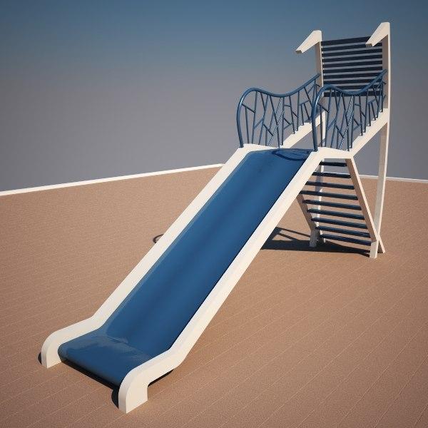3d slide model