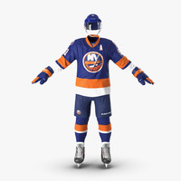 3d hockey equipment islanders