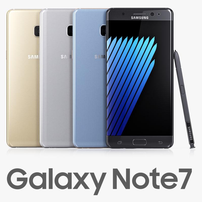 samsung galaxy note7 colors max