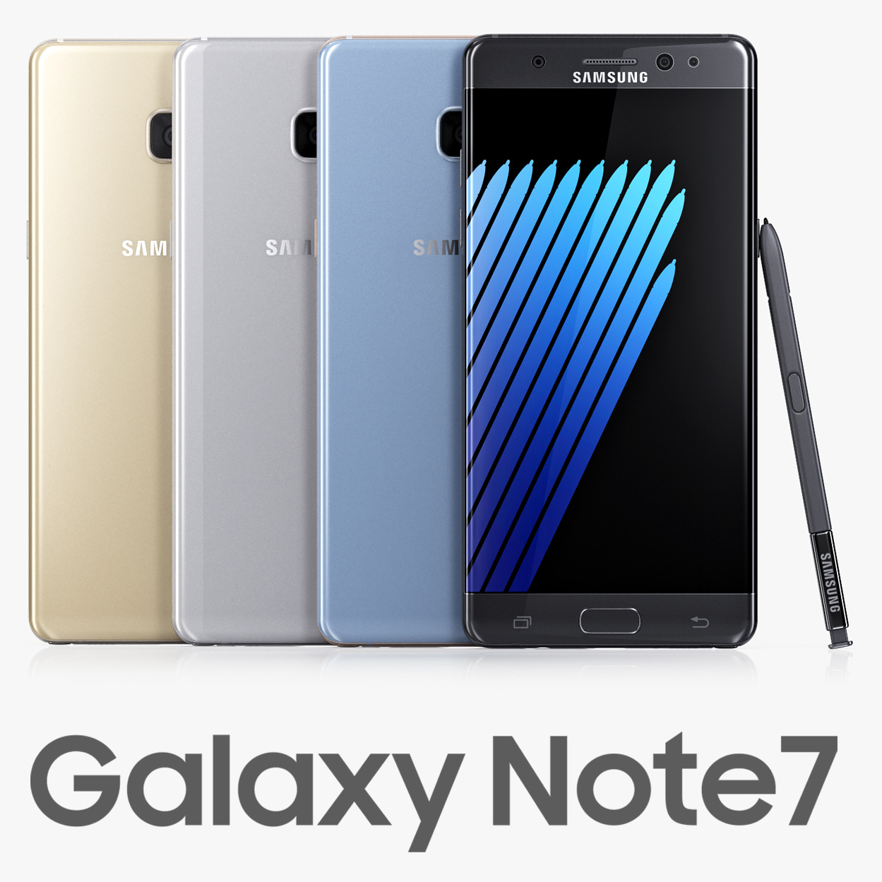 samsung galaxy note7 colors max