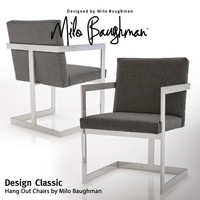 hang chairs milo baughman 3d max