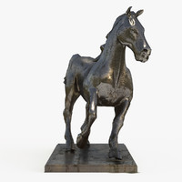 decorate sculpture animal 3 3d model