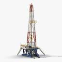 Fracking Gas Platform