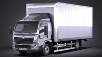 Generic Cargo Truck Mid Size 2016
