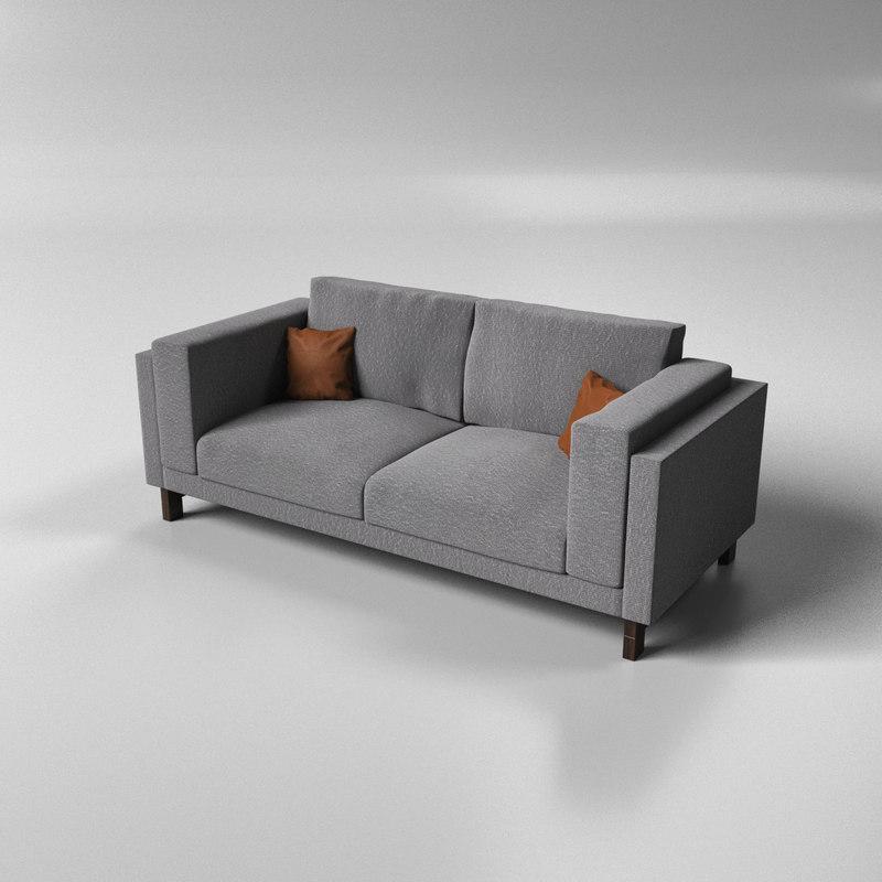 3d nockeby sofa