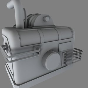 3d industrial pump