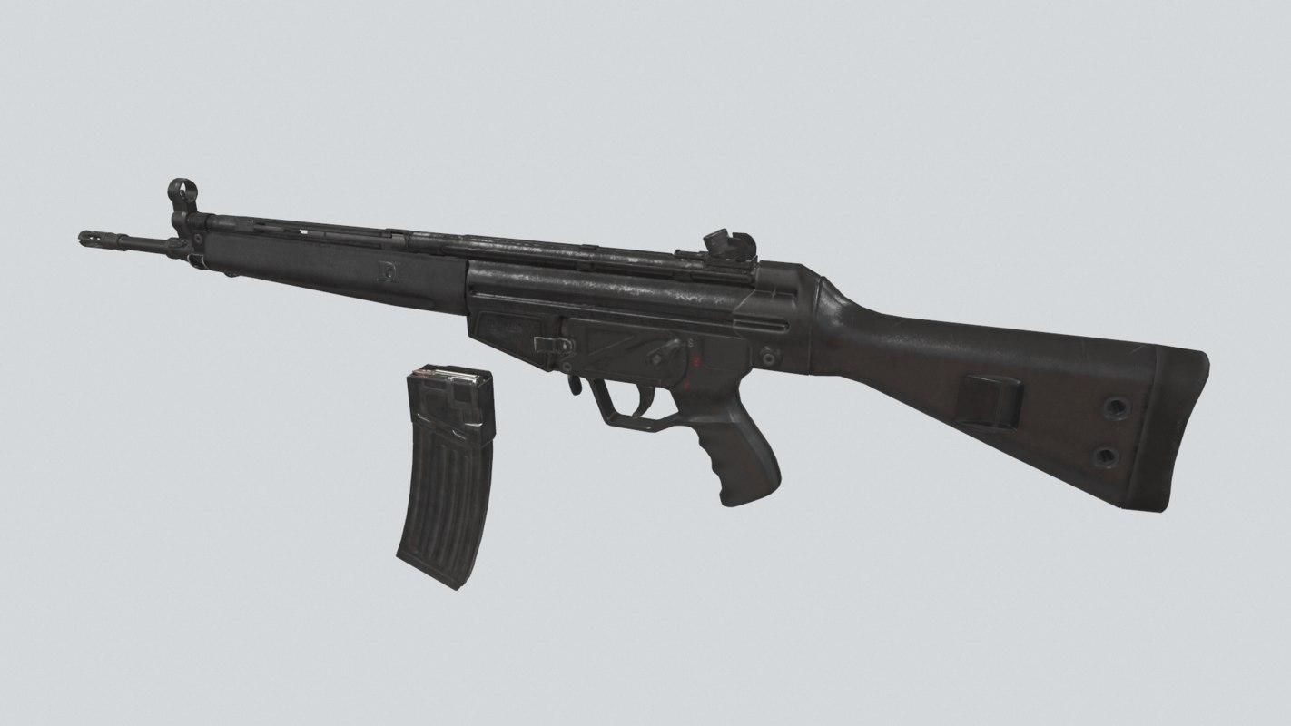 german assault rifle x