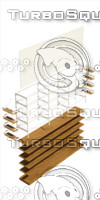 furniture commercial 3d fbx