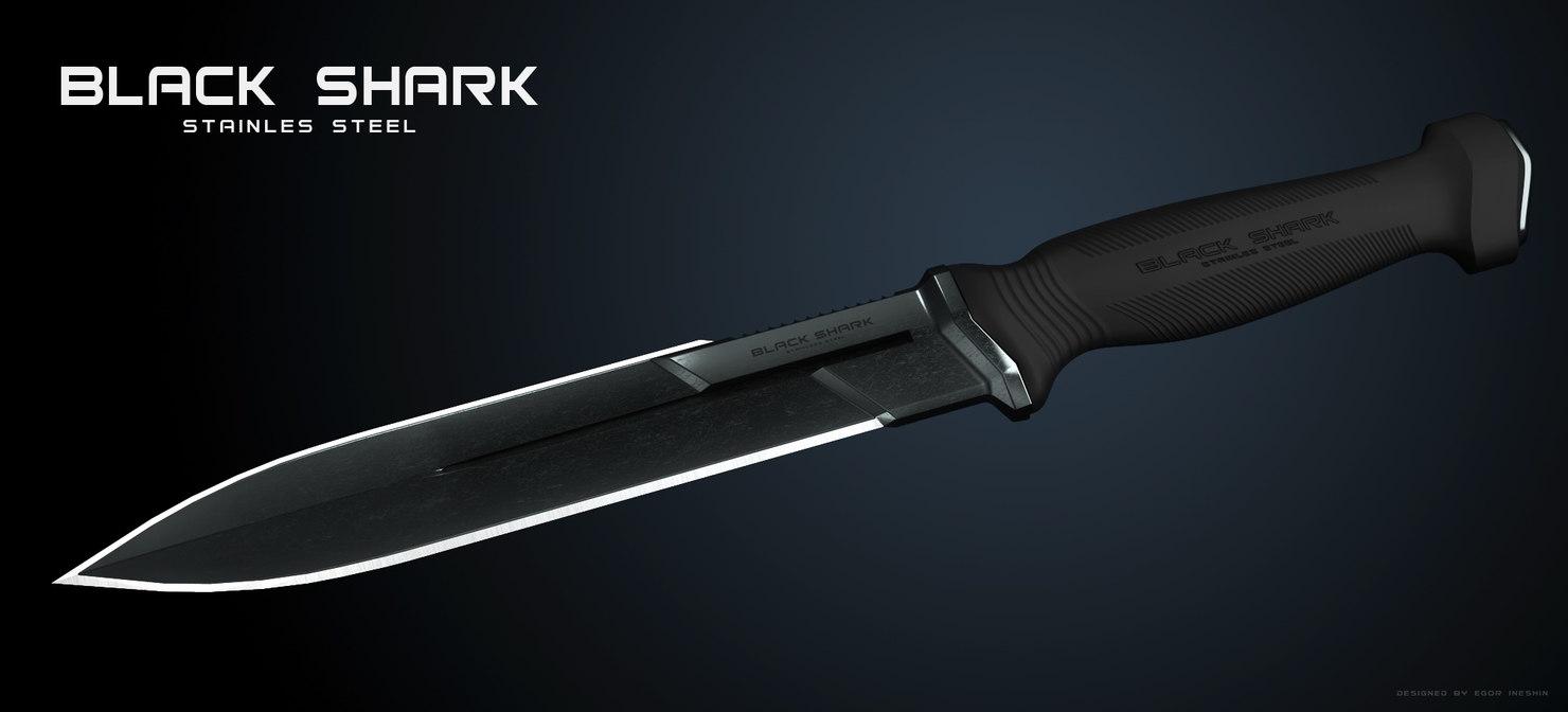 3d knife concept