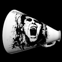 megaphone 3d max