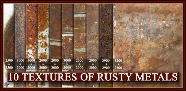 rust metal textures vol.1