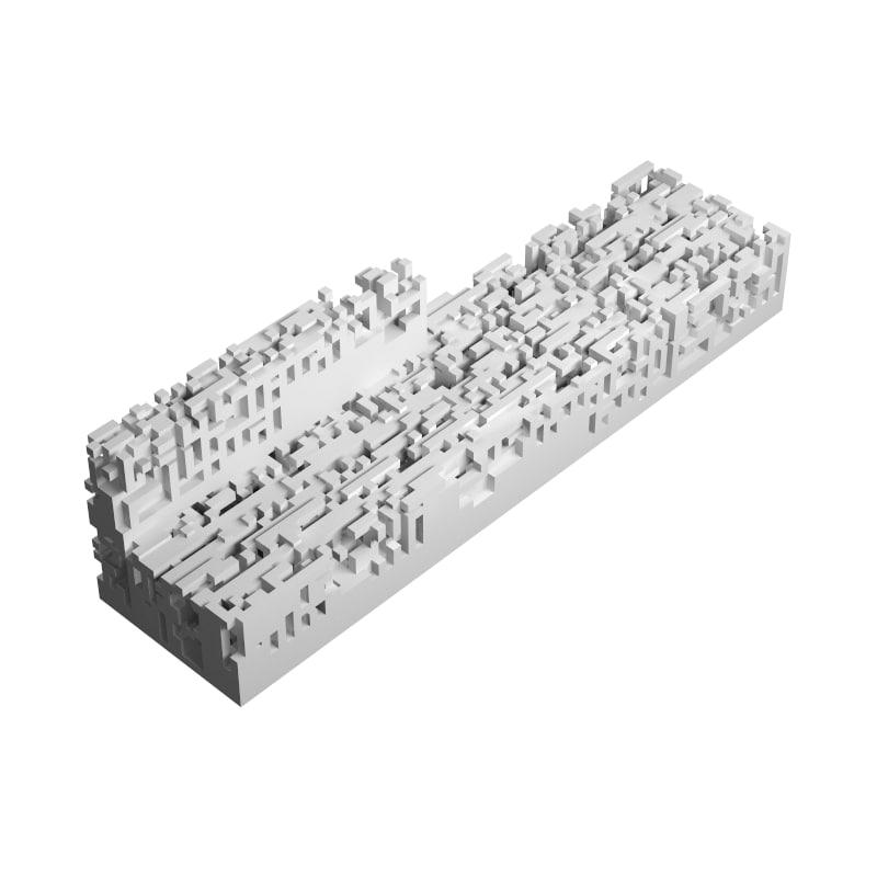 n-omino i-block 1 3d model