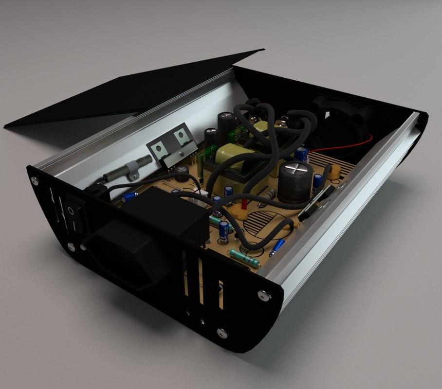 free obj model power inverter