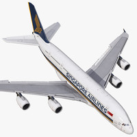 max airbus a380-900 singapore airlines