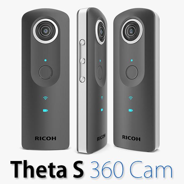 ricoh theta s 360 3d model