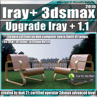 Iray + 1.1 in 3dsmax 2016 Upgrade Vol 5.0 Cd Front