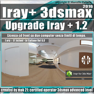 Iray + 1.2 in 3dsmax 2016 Upgrade Vol 6.0 Cd Front