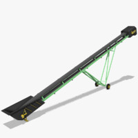 3d model stockpile conveyor