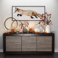 Fox&Candles decor set