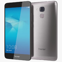 3ds realistic huawei honor 7